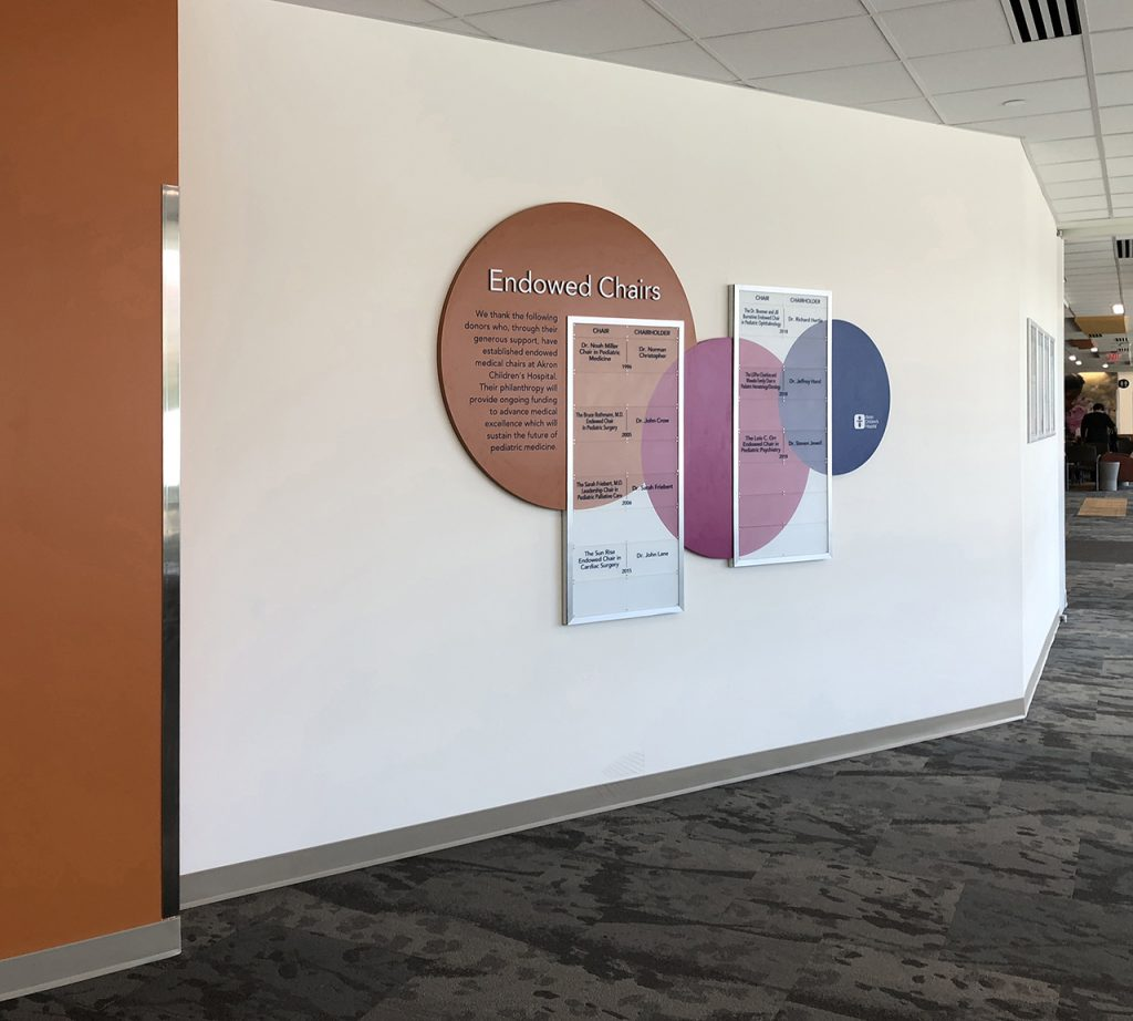 cleartech donor wall