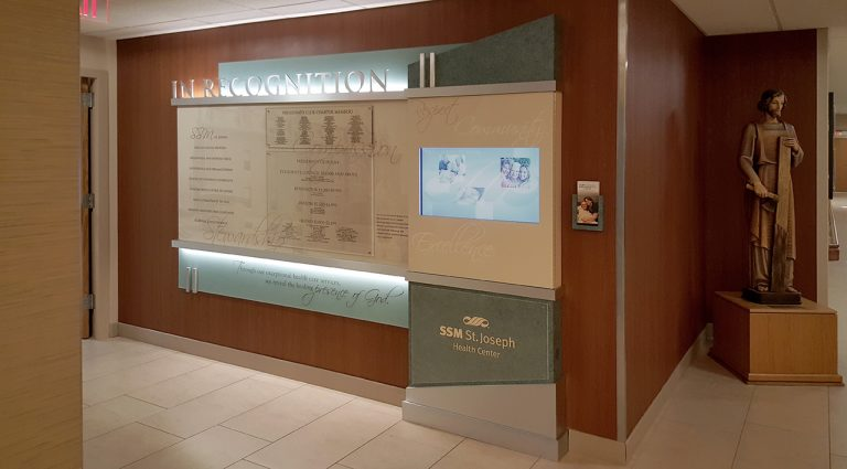 interactive donor wall