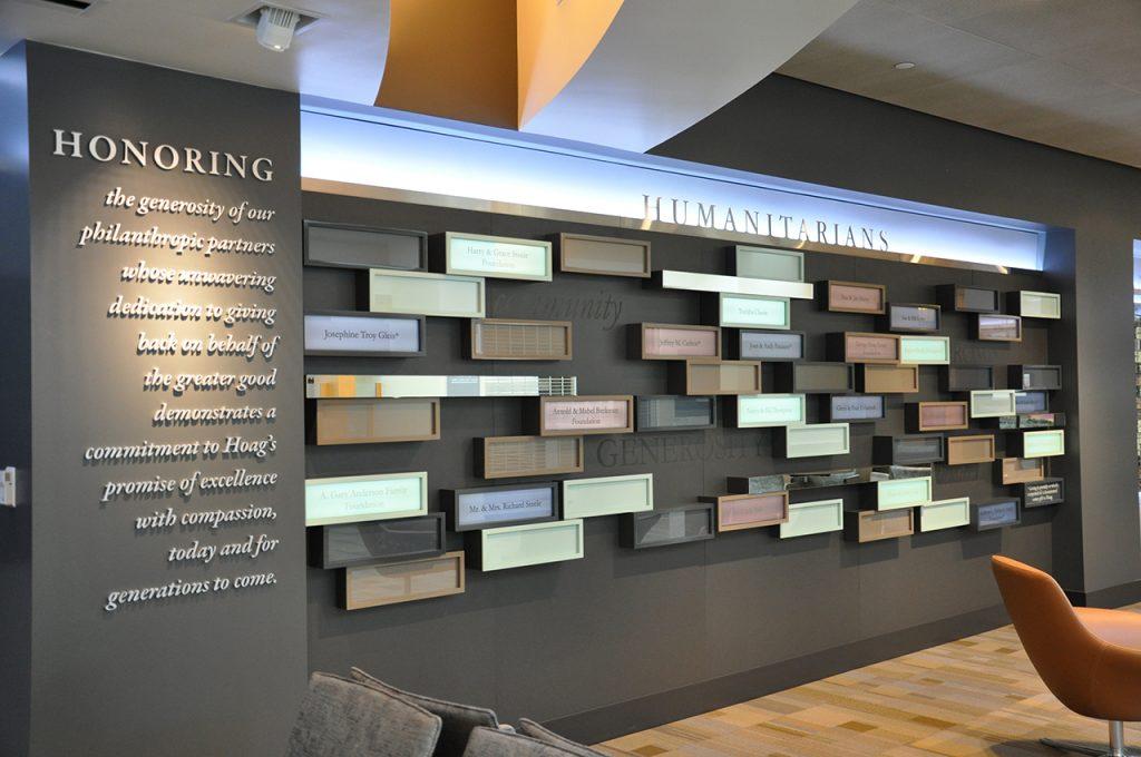 lightbox display