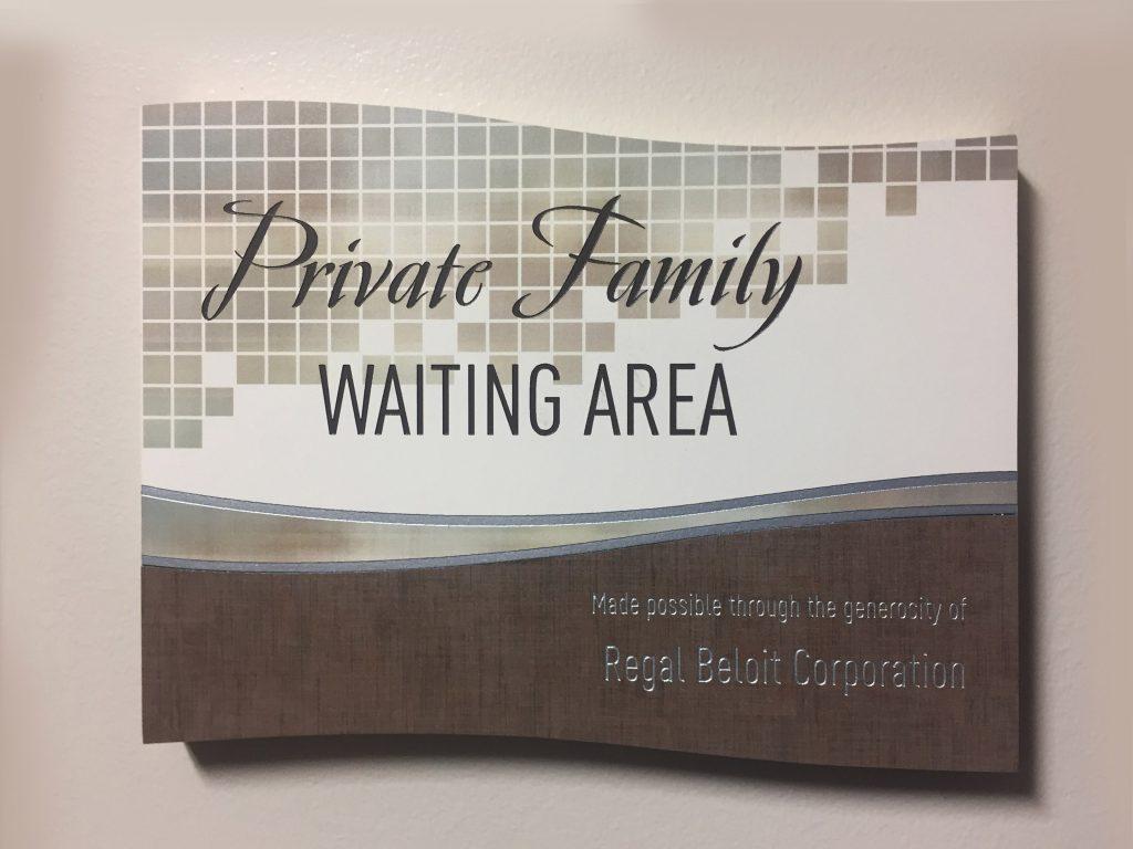 permanent etch plaque