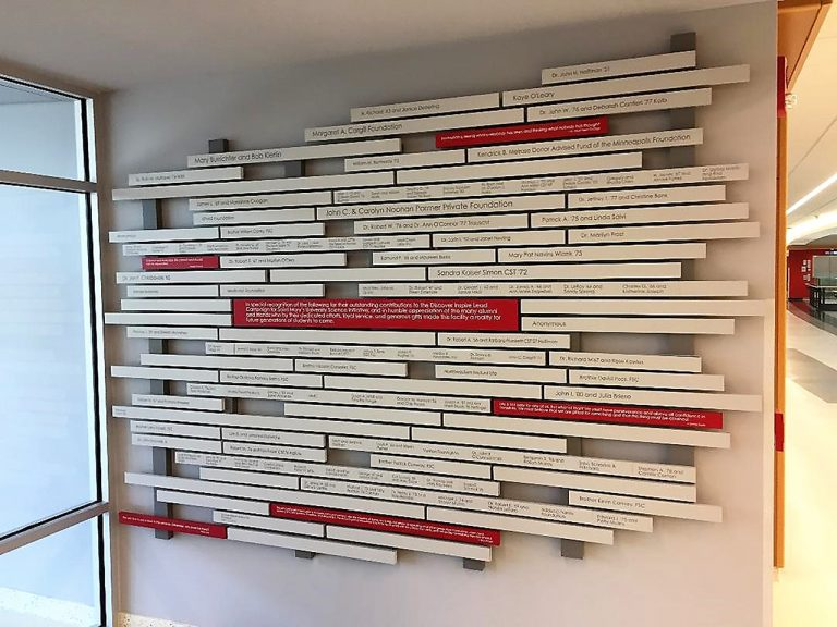magtech donor wall
