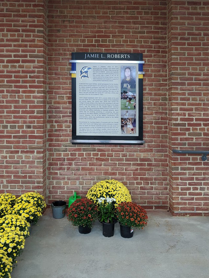 outdoor permanent recognition display