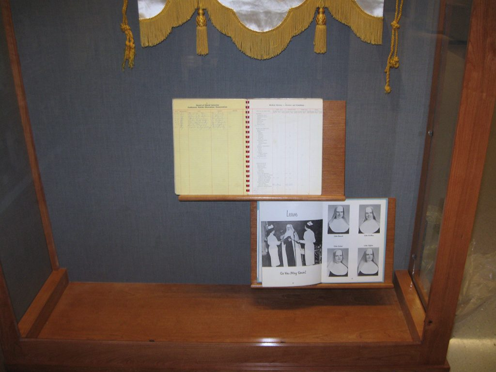 history display case