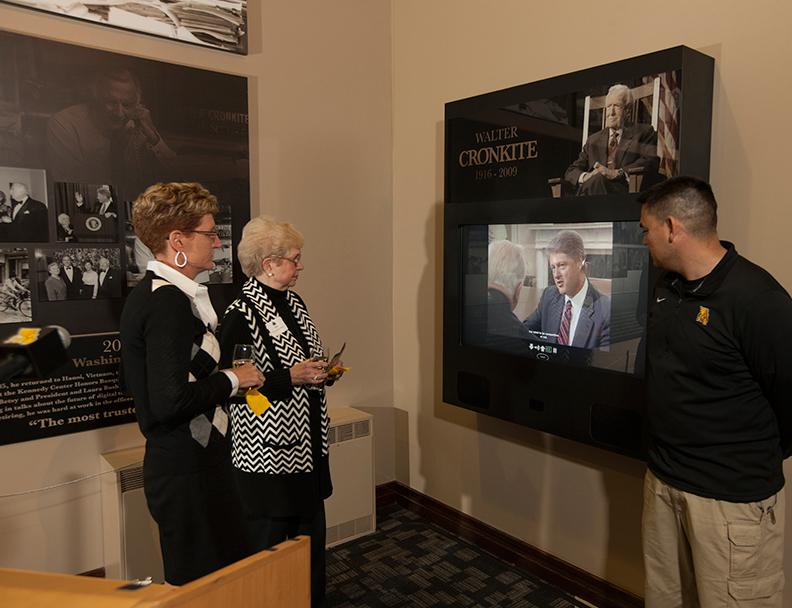permanent history display