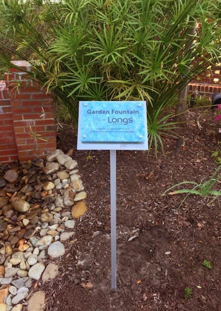 outdoor permanent plaque