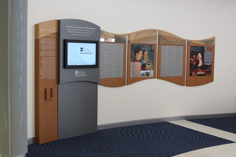 interactive and magtech donor display