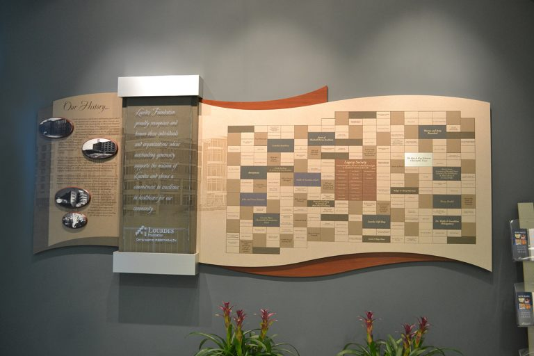 history display with magtech