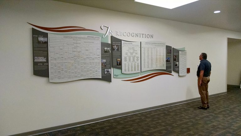 history display with magtech and clear change