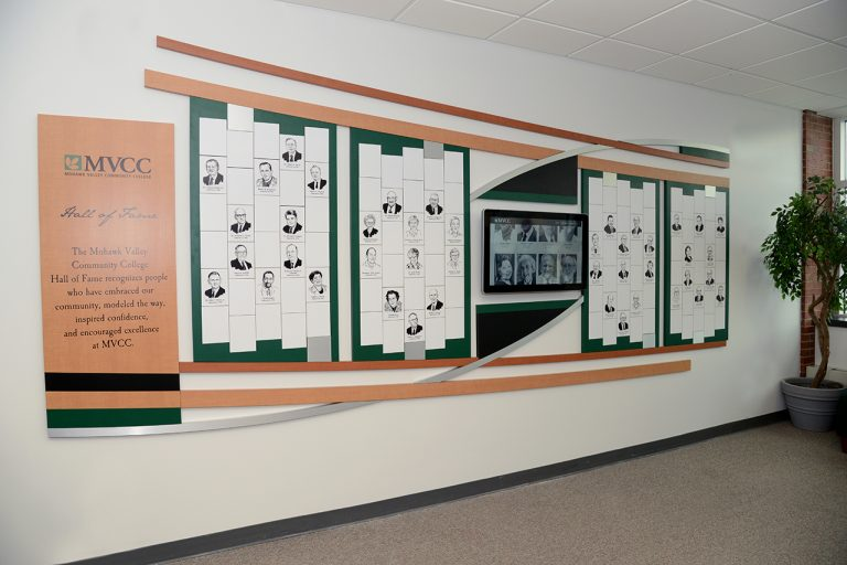 interactive and magtech donor wall