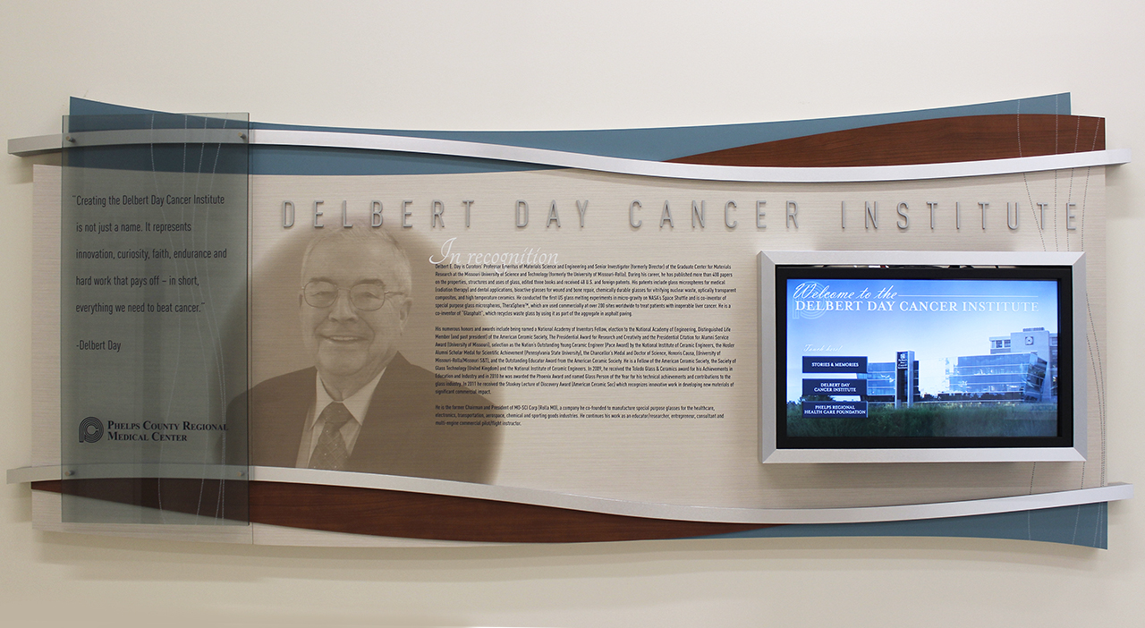 interactive and permanent donor wall