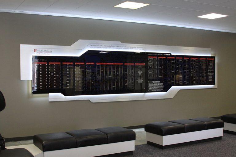 clear tech wall