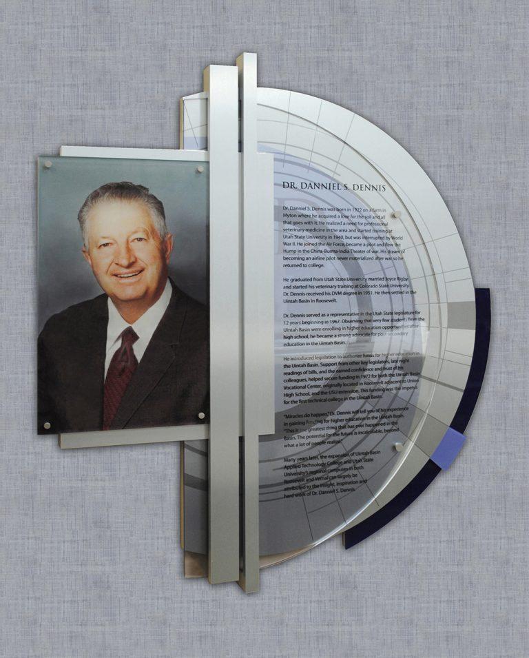 permanent donor plaque