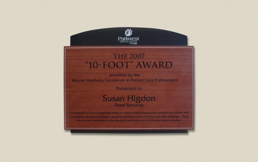 award recognition