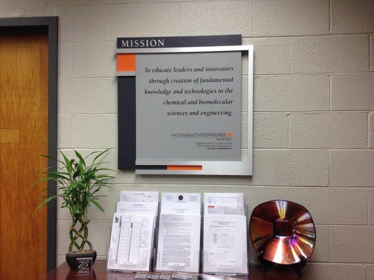 mission statement display
