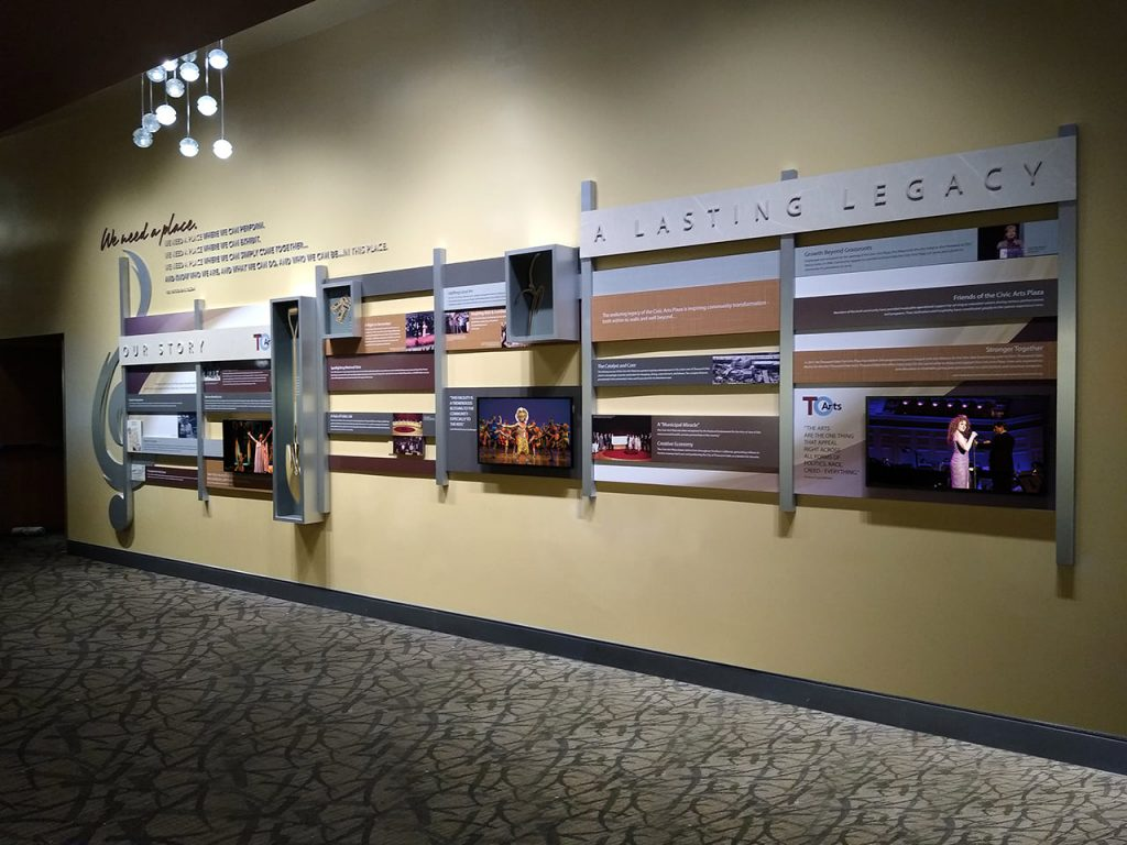 Thousand Oaks Alliance for the Arts history display